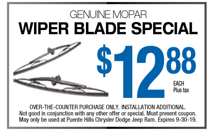 Wiper Blade Special