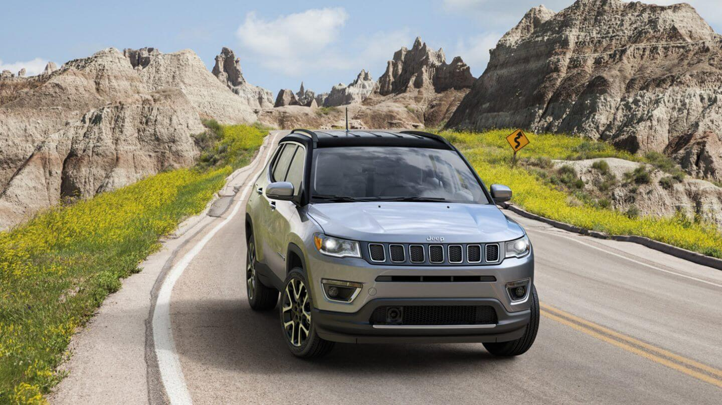 Test Drive the 2020 Jeep Compass near Downey CA