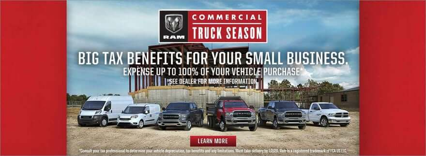 Los Angeles RAM Commercial Truck Season