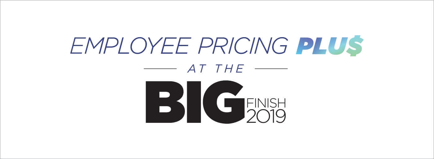 Los Angeles RAM BIG Finish 2019 Employee Pricing Plus
