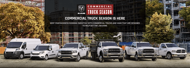 Puente Hills RAM - RAM Commercial Truck Season comes to the Los Angeles CA Area