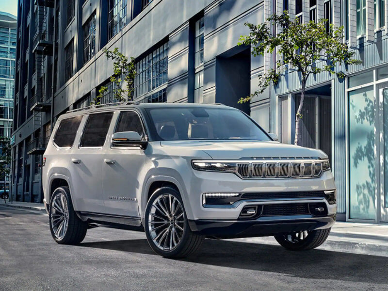 Puente Hills Jeep - The 2022 Jeep Grand Wagoneer is a powerful vehicle near Downey CA