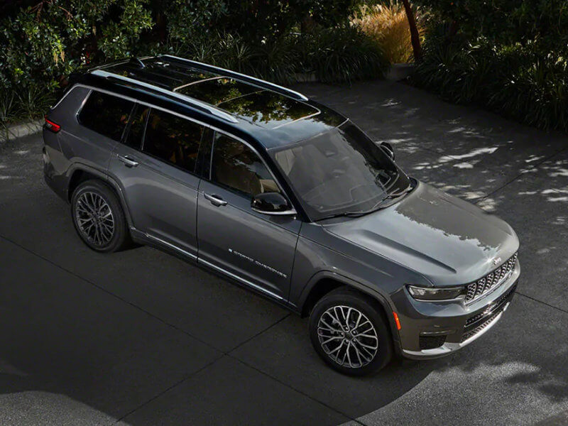 Puente Hills Jeep - The 2021 Jeep Grand Cherokee L is spacious near Alhambra CA