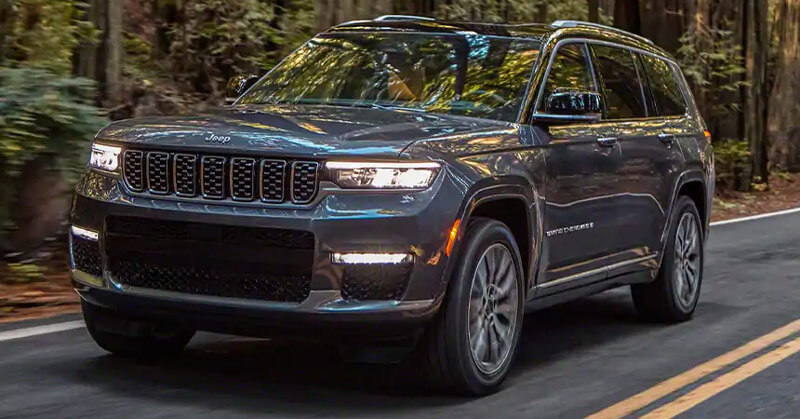 Puente Hills Jeep - The 2021 Jeep Grand Cherokee L gives you high-tech capabilities near Cerritos CA