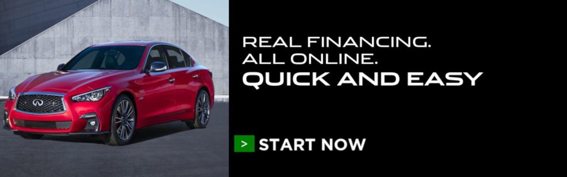 INFINITI Finance - webbuy