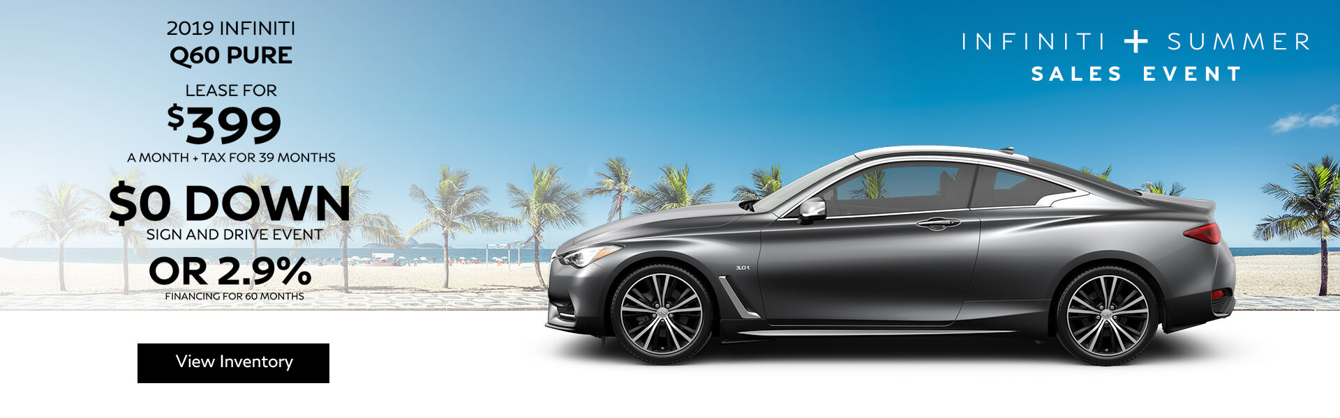 Q60 PURE - Lease for $399