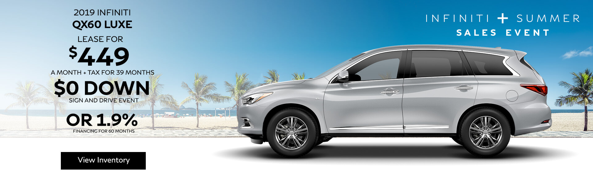 QX60 LUXE - Lease for $449