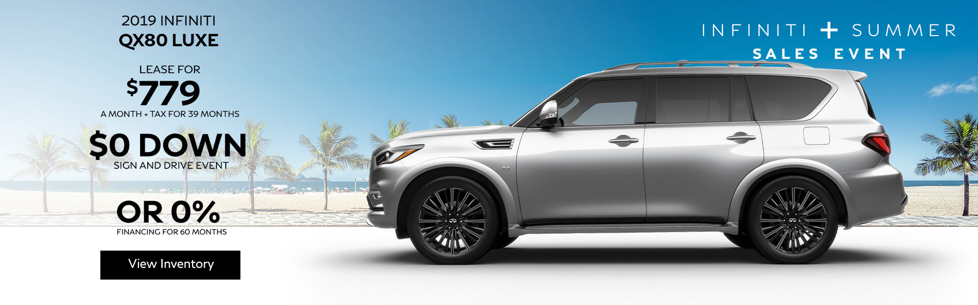 QX80 LUXE - Lease for $779