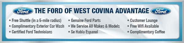 The Ford of West Covina Advantage