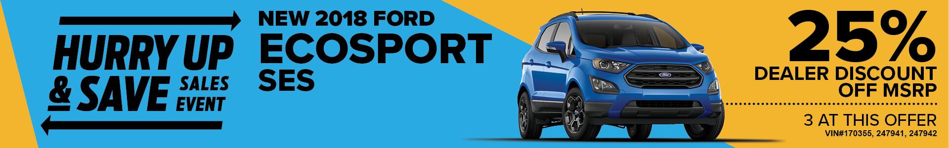 MJS Ad - 2018 EcoSport