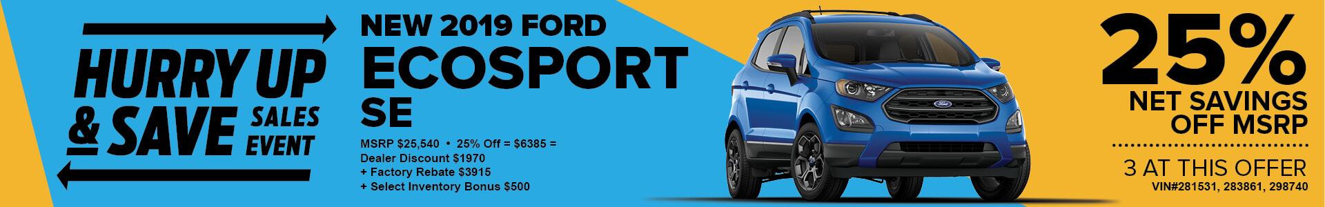 MJS ad - 2019 Ecosport