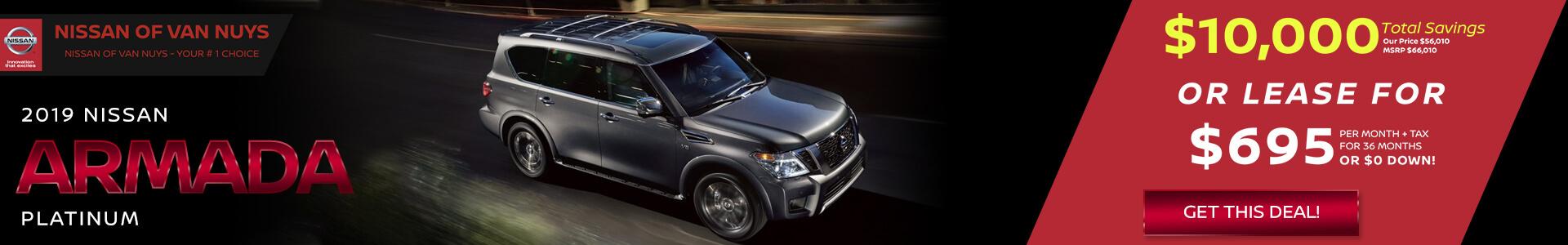 Nissan Armada - $56,010 Purchase