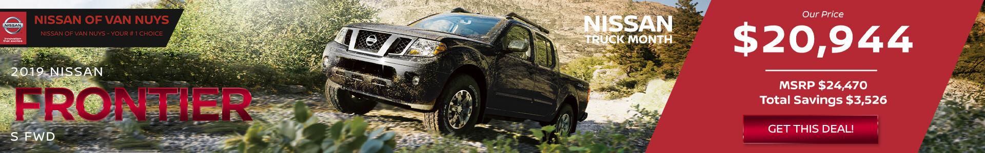 Nissan Frontier $20,944