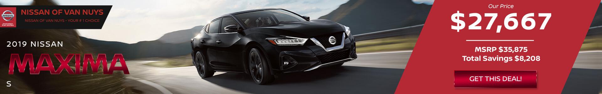 Nissan Maxima $27667