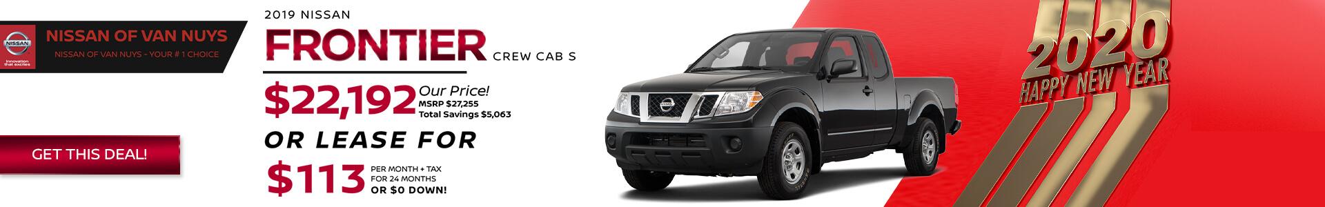 Nissan Frontier SRP