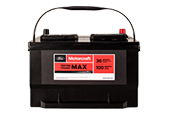 MOTORCRAFT® TESTED TOUGH® MAX BATTERIES STARTING AT $134.95 MSRP*