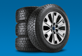 Get a $70 rebate by mail or earn 30,000 FordPass™ Rewards bonus Points when you buy four select tires*