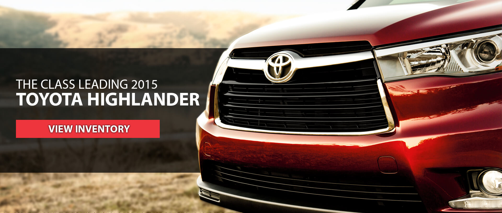 The Class Leading 2015 Toyota Highlander