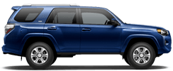 Toyota 4Runner Serving Blue Diamond