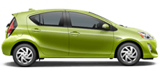 Toyota Prius C serving Surprise