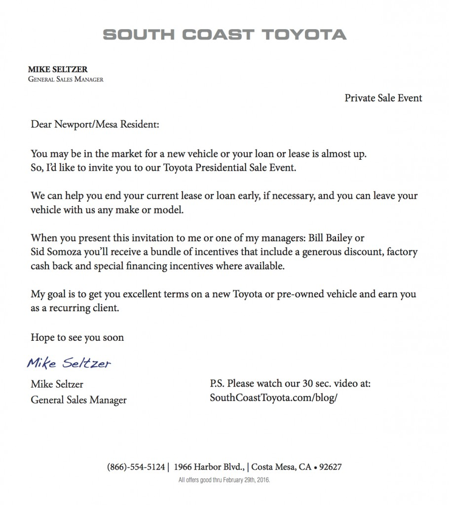 SCT Cover Letter