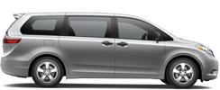 Toyota Sienna serving Rowland Heights