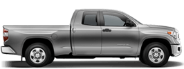 Toyota Tundra serving Crown King