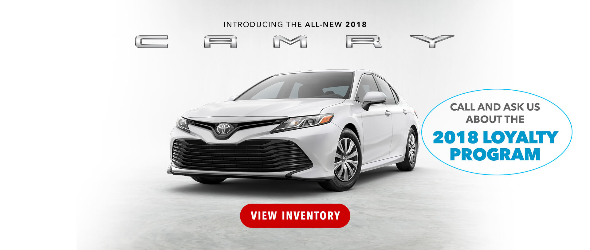 2018 Camry Loyalty Program