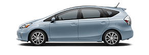 New Toyota Prius V