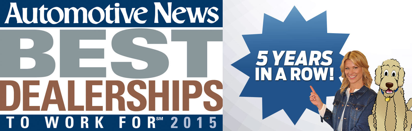 Automotive news Best Dealerships to Work for 2015