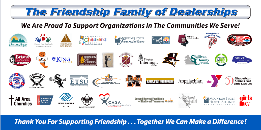 The Friendship Family of Dealerships