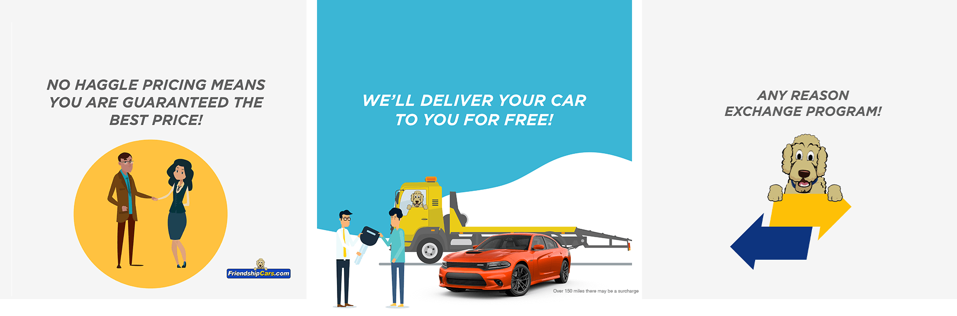 No Haggle Pricing Means You Are Guaranteed The Best Price! | We'll Deliver Your Car to you For Free! | Any Reason Exchange Program