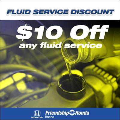 Fluid Service Discount