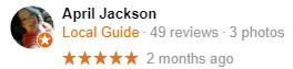 Fleetwood, NC Yelp Review