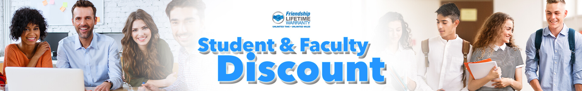 Students and Faculty Discount