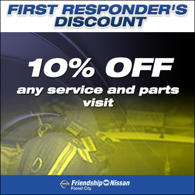 First Responder's Discount