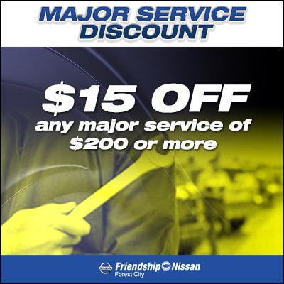 Major Service Discount