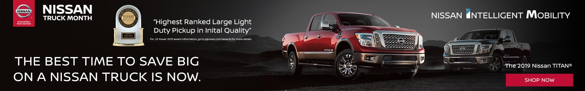 Nissan Truck Month