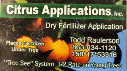 Citrus Applications