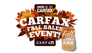 Carfax Fall Sales Event