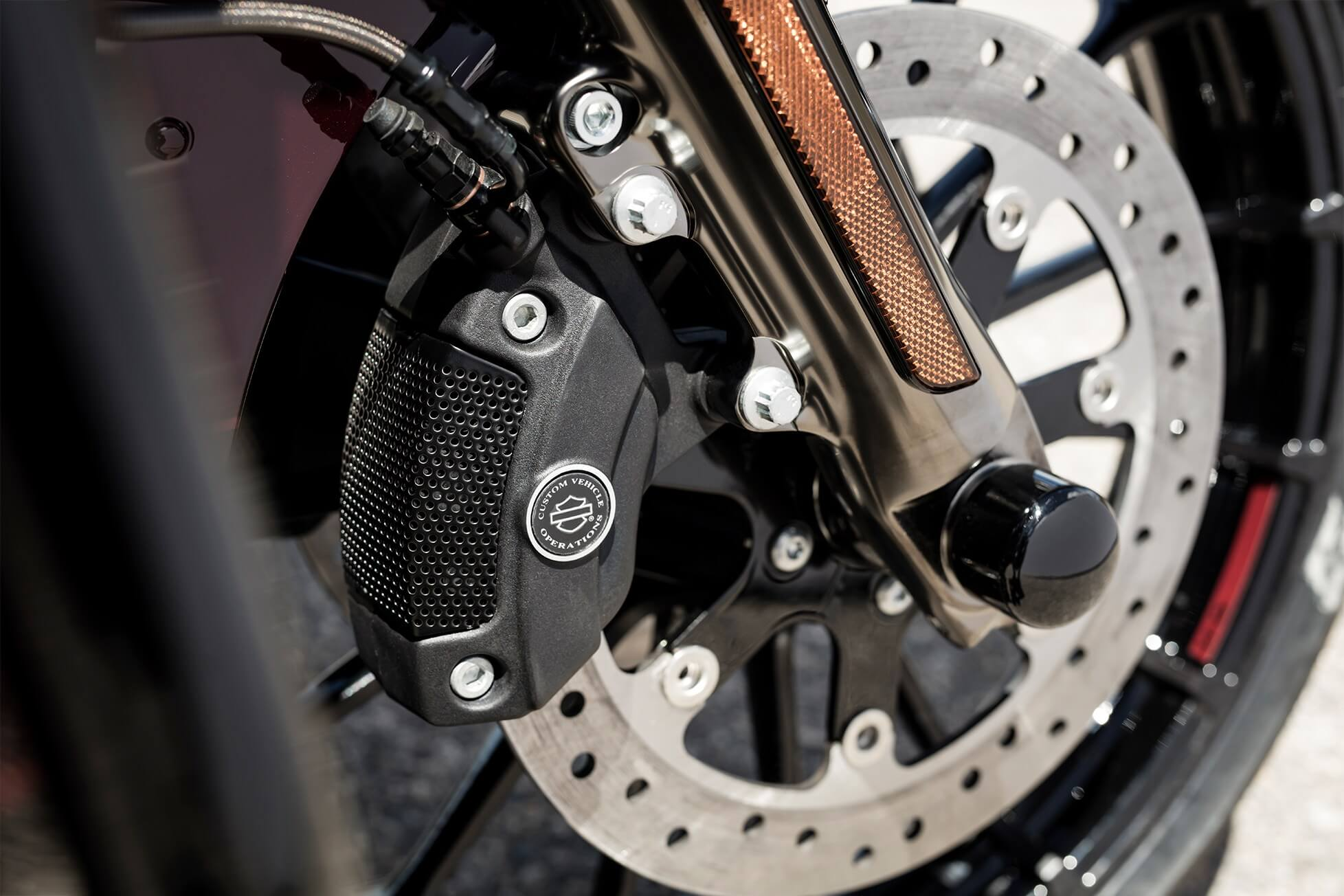 Reflex™ Linked Brembo® Brakes With Optional Abs