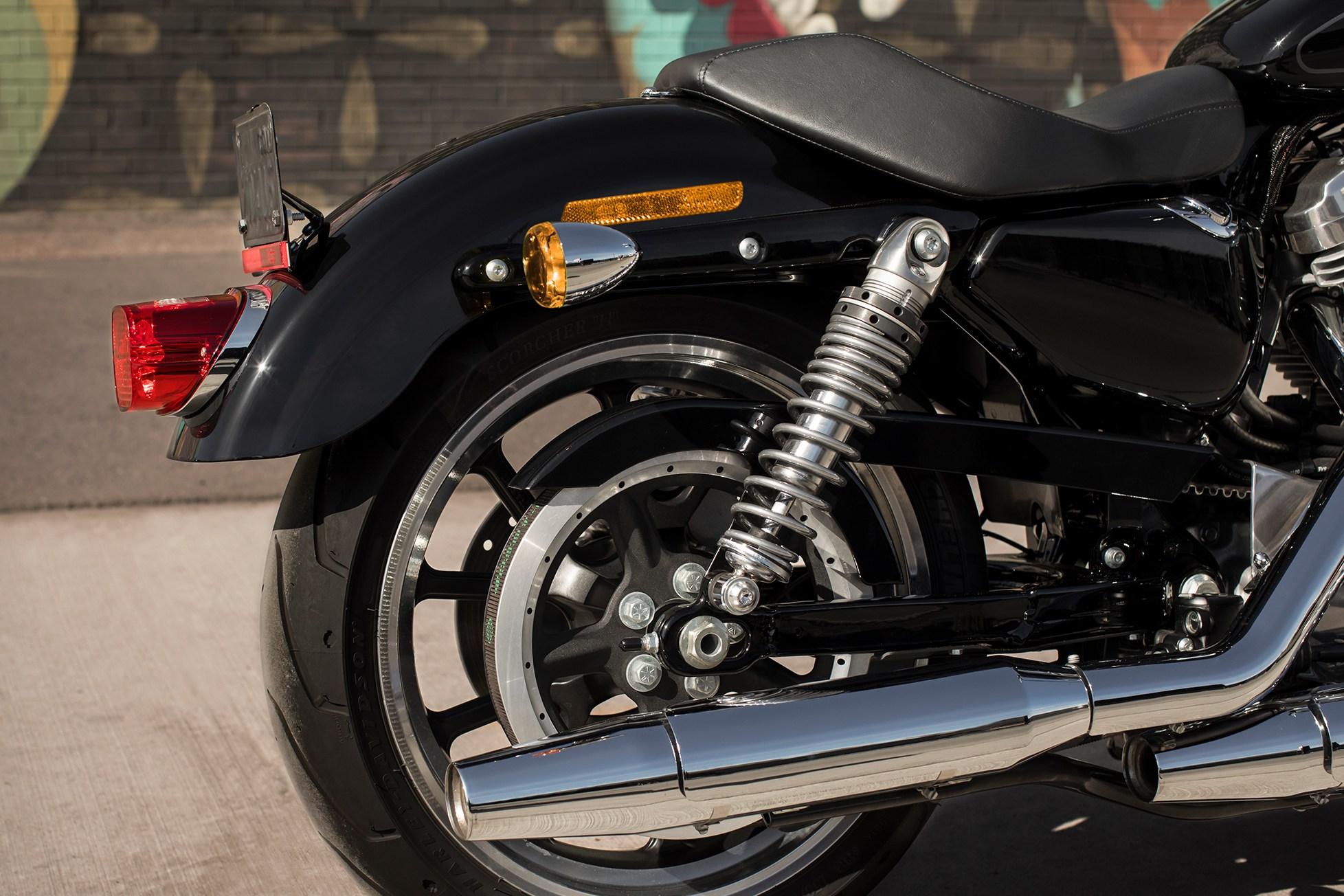 Emulsion Rear Shock With Screw Adjuster
