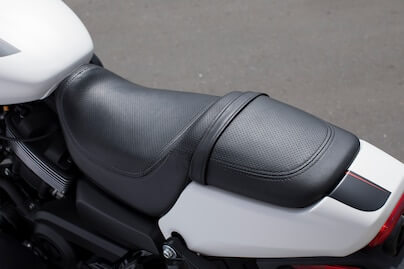 Two-Piece 2-Up Seat with Passenger Foot Pegs