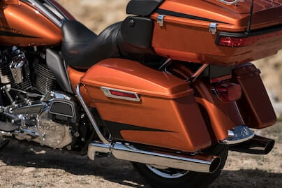 One-Touch Opening Saddlebags