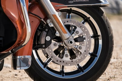 Reflex™ Linked Brembo® Brakes with Standard ABS