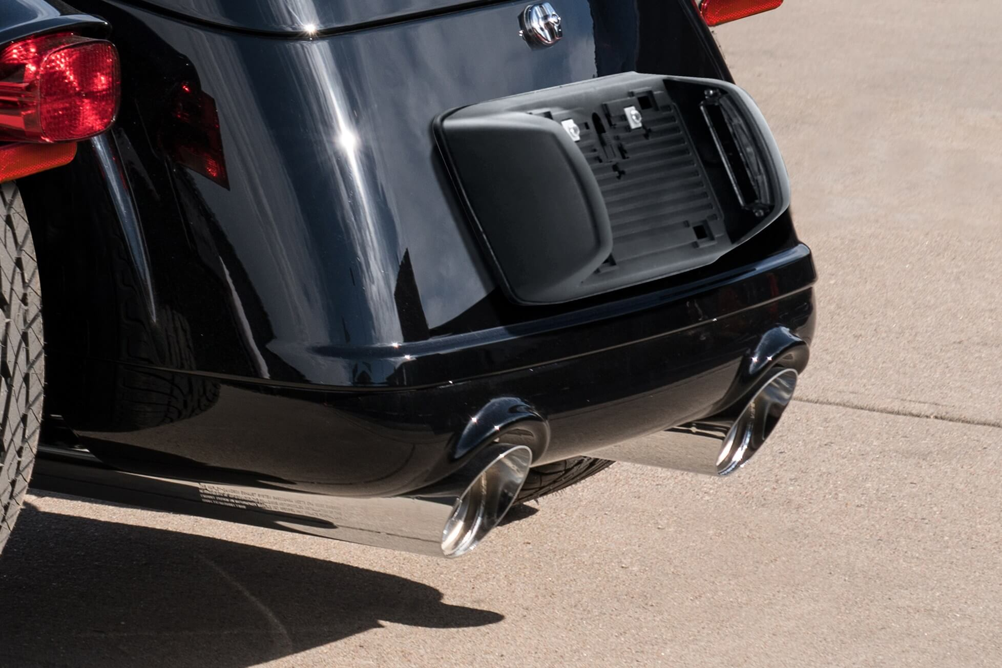 Chrome Slash Cut Mufflers