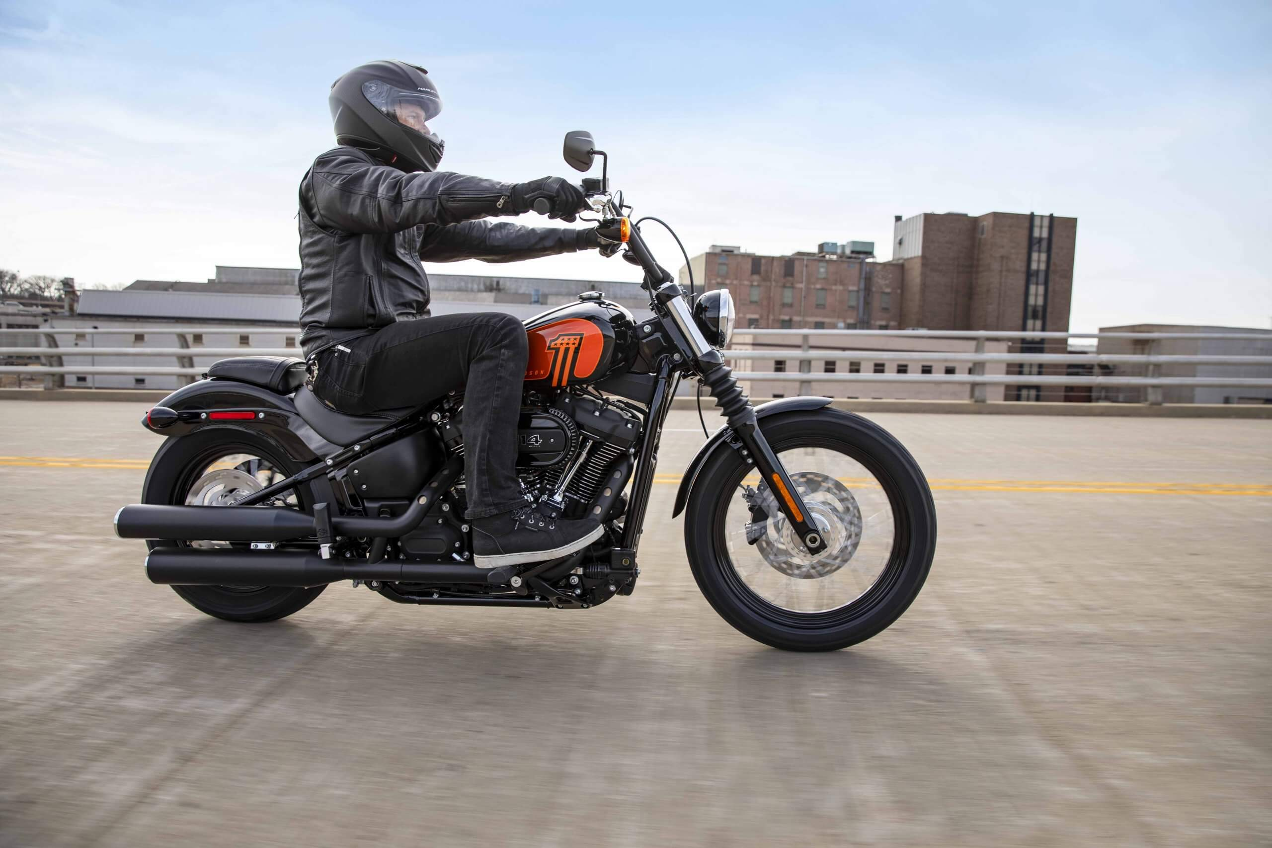 Milwaukee-Eight® 114 engine, the most powerful option for a Softail®