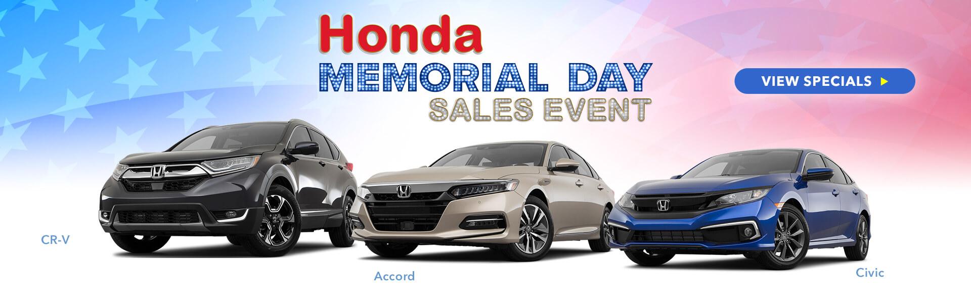 Memorial Sales Event