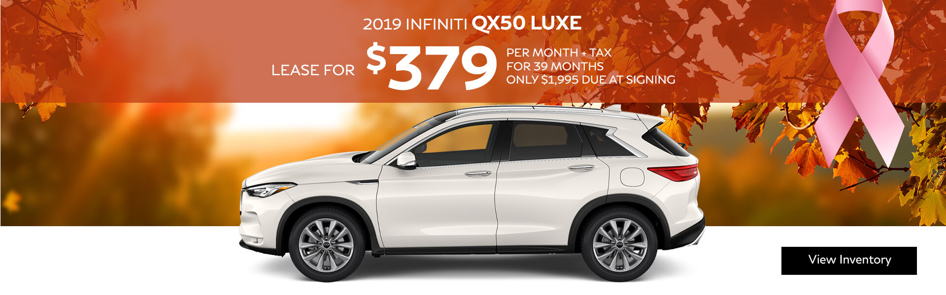 QX50 LUXE - Lease for $299