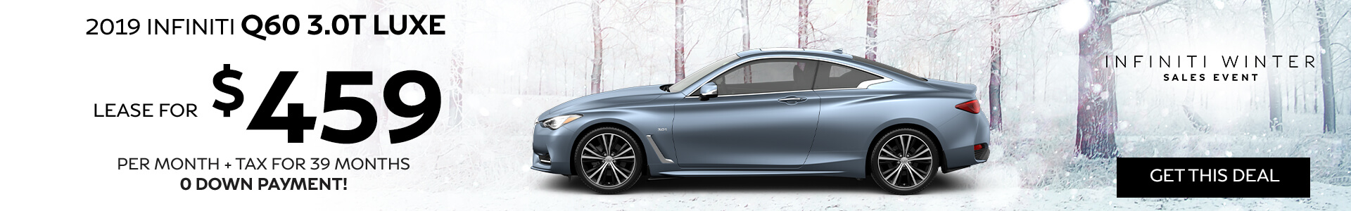Q60 LUXE - Lease for $459